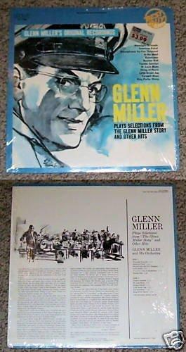 Glenn Miller Selections Music Album Record LP 33