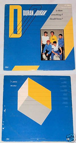Duran Duran Is There Something I Should Know   LP 33