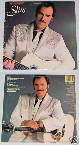 Slim Whitman  Mr. Songman    Album Record LP 33