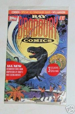 Ray Bradbury Comics NEW STILL SEALED 3 Topps Cards