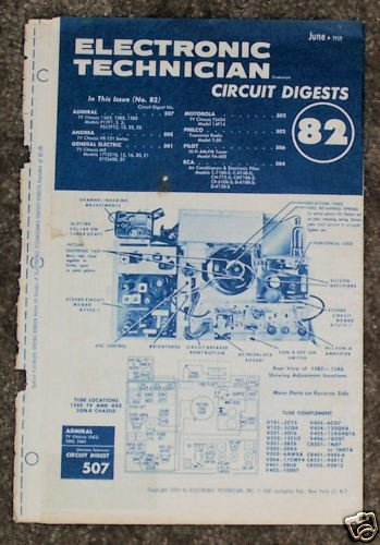 Electronic Circuit Digest June1959 Philco Pilot Admiral