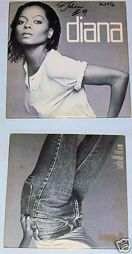 Diana Ross   Diana  Music Record Album LP 33