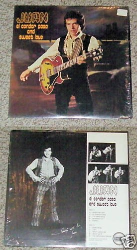 Juan el condor pasa and sweet love Album Record LP 33