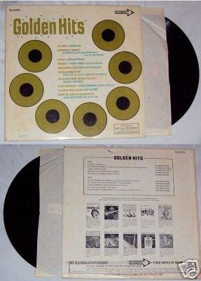 Golden Hits Various Artists Music Record LP 33 Album