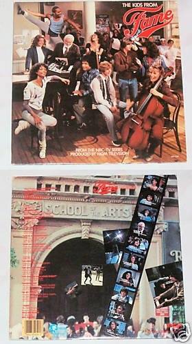 The Kids From Fame    Record LP 33 Album