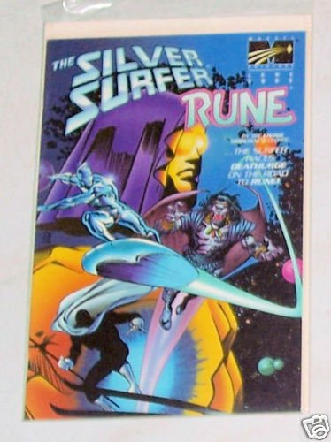Silver Surfer Rune Vol. 1 No. 1  April 1995