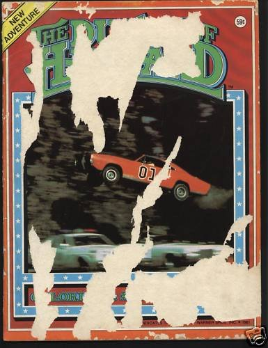 Dukes Of Hazard Coloring & Activity Book 1981 WB Inc.