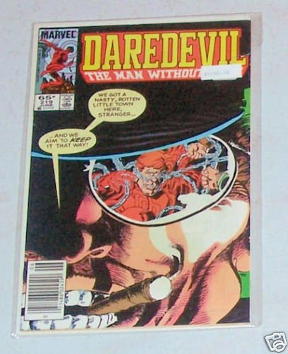 DareDevil Vol. 1 No. 219 June 1985