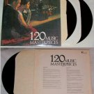 120 Music Masterpieces Record Music Album LP 33