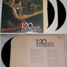 120 Music Masterpieces Record Music Album LP 33