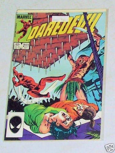 DareDevil Vol. 1 No. 211 October 1984