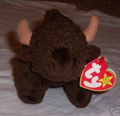 Roam the Bison TY Beanie Babies  Collectible