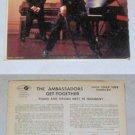 The Ambassadors Get Together Music Album Record LP 33