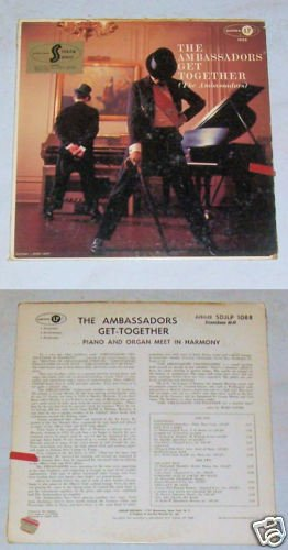 The Ambassadors Get Together Music Album Record LP 33