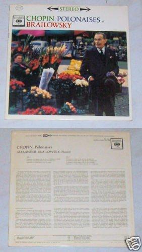 Chopin Polonaises Brailowsky Music Album Record LP 33
