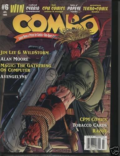 Combo Magazine July 1995Jim Lee WildStorm Magic Tobacco
