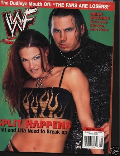WF Magazine Jan02 Matt & Lita Dudleys Losers Machine ++