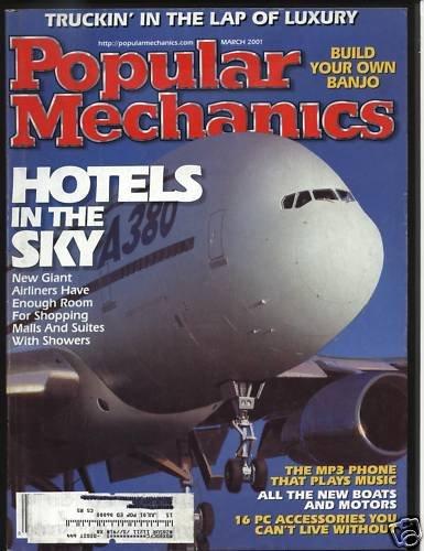Popular Mechanics March 2001 Volume 178 No. 3