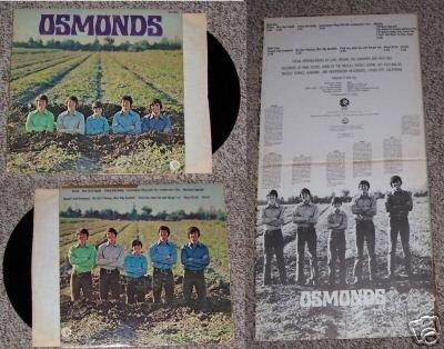 Osmonds Record Music Album LP 33