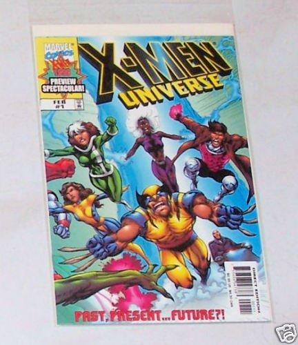 X-Men Universe Vol.1 No. 1 February 1999 Past Present