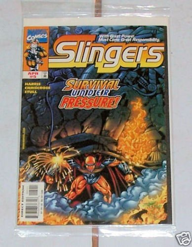 Slingers Vol.1 No.5 April 1999 Survival Under pressure