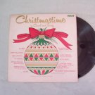 Christmastime In Carol and Song  Album Record LP 33
