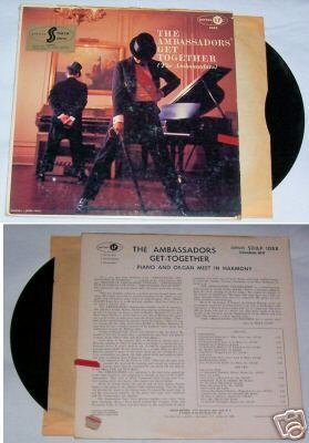 The Ambassadors Get Together Music Album LP 33