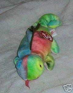 Iggy the Iguana  Ty Beanie Babies Collectible