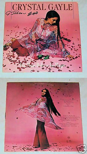Crystal Gayle We Must Believe in Magic  RecordLP 33