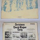 Christmas W/ The Chuck Wagon Gang ALBUM IS YELLOW LP 33