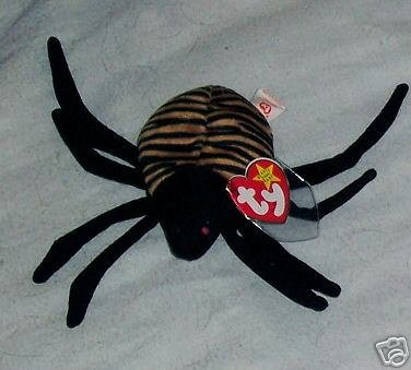 Spinner the Spider Ty Beanie Babies Collectible