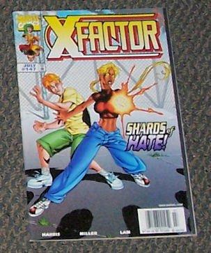 X-Factor Vol. 1 No. 147 July 1998