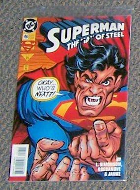 Superman   Man Of Steel 46    July 1995