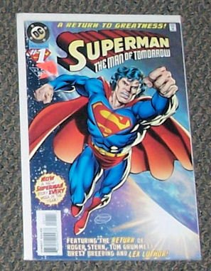 Superman   Man Of Tomorrow  1   Summer 1995
