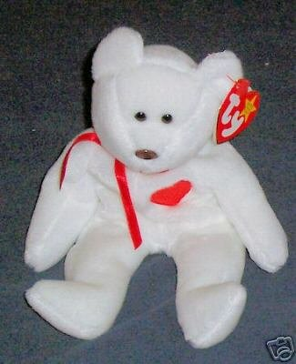 Valentino the Bear Ty Beanie Babies Collectible