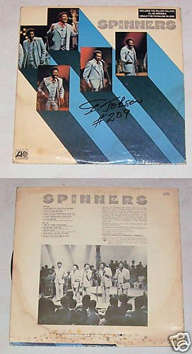 Spinners Self Titled Music Record Album LP 33
