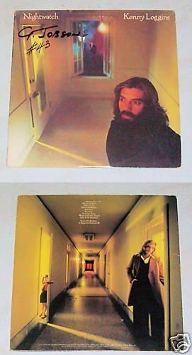 Kenny Loggins Nightwatch Music Record Album LP 33