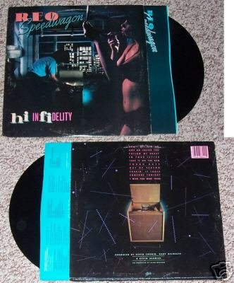 Reo Speedwagon Hi Infidelity Music Record Album LP 33