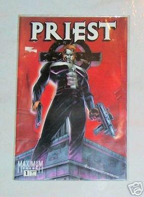 Priest Vol. 1 No. 1 August 1996 Maximum Press Comics