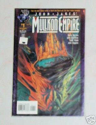 John Jakes Mullkon Empire Vol. 1 No. 1 Tekno Comix
