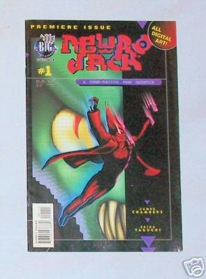 Neuro Jack Vol. 1 No. 1 August 1996 Big E Comics