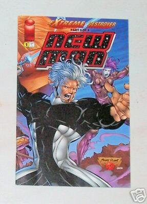 Extreme Destroyer New Man Vol. 1 No. 1 Jan. 1996 Image