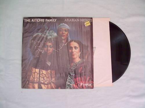 The Ritchie Family Arabian Nights Record Album LP 33