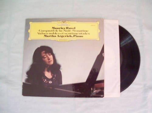Maurice Ravel Martha Argerich Music Record Album LP 33