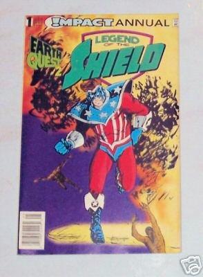 Legend Of The SHIELD Annual No. 1 DC Comics
