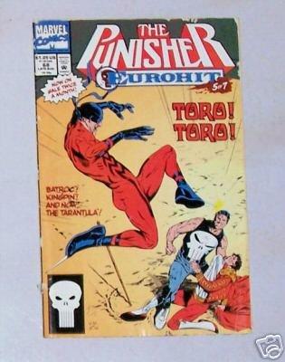 The Punisher Eurohit Vol.II No. 68 Aug.92 Marvel Comics