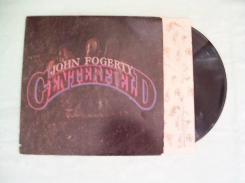 John Fogerty Centerfield Music Record Album LP 33