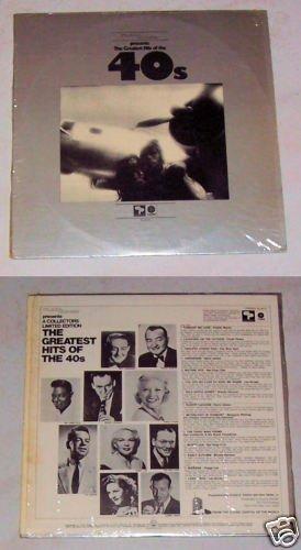 Plaza House Greatest Hist of 40's Record Album LP 33