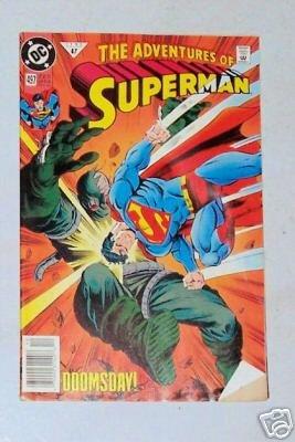Superman 497 Doomsday December 1992 DC Comics