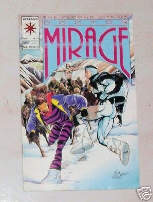The Second Life Of Doctor Mirage No. 2 Valiant Comics